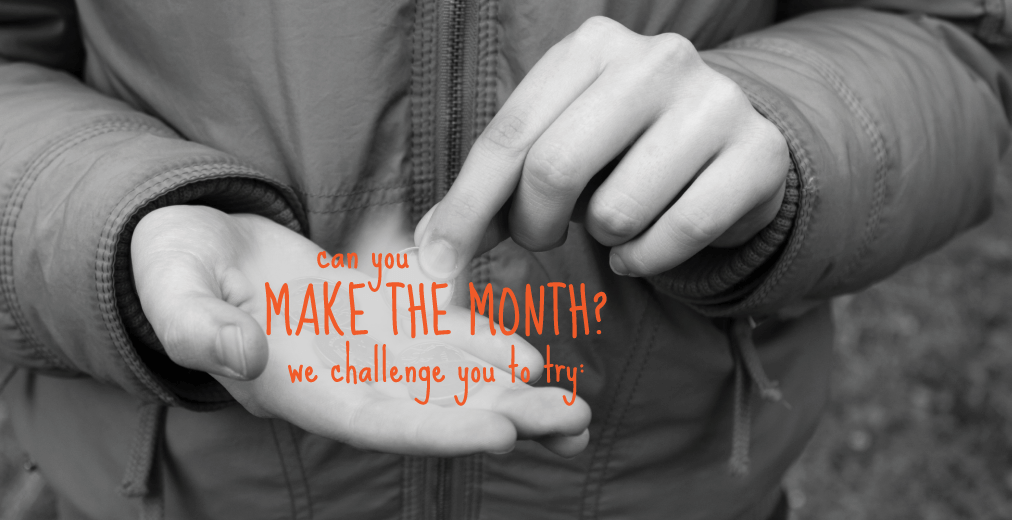 Could You Make the Month?